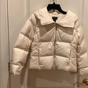 Ralph Lauren Polo Girls Off-White Down Jacket